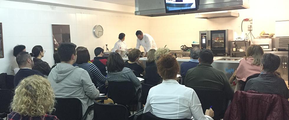 Toni Gonzalez-Master Class Gastronomia Estrella Michelin