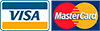 Tárjeta de crédito Visa y Mastercard